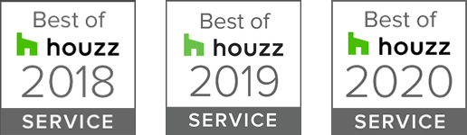 Best of Houzz Awards - 2018, 2019, 2020